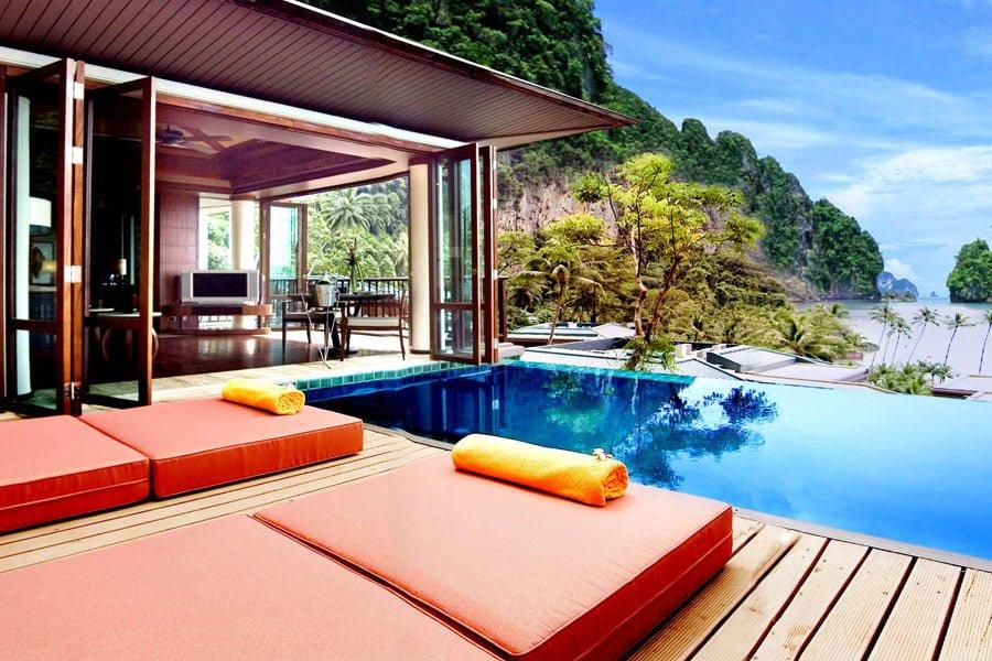 One-Bedroom Suite mit eigenem Pool