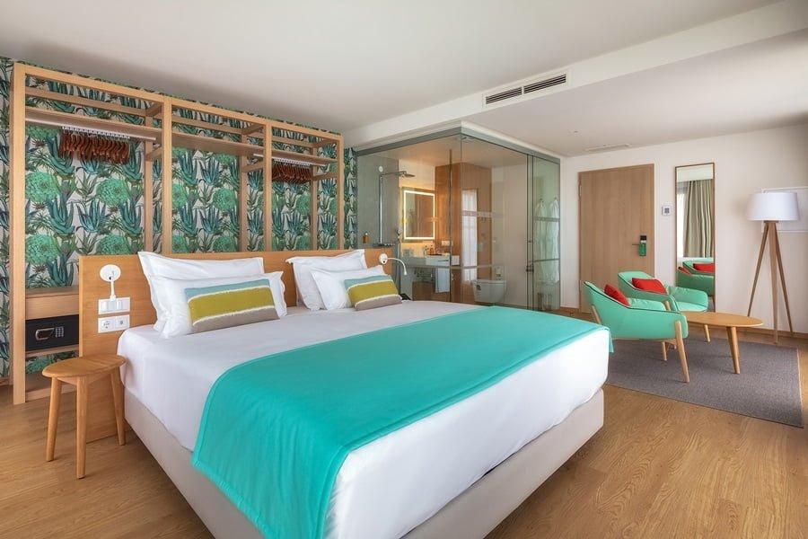 Doppelbettzimmer Sea View