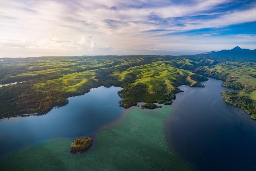 Aussicht auf den Fjord