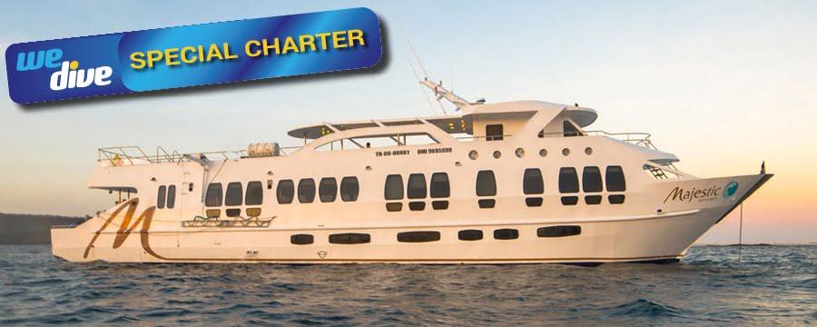 Majestic Explorer Galapagos Tauchkreuzfahrtenschiff Tauchsafari Schiff Tauchen Grossfisch