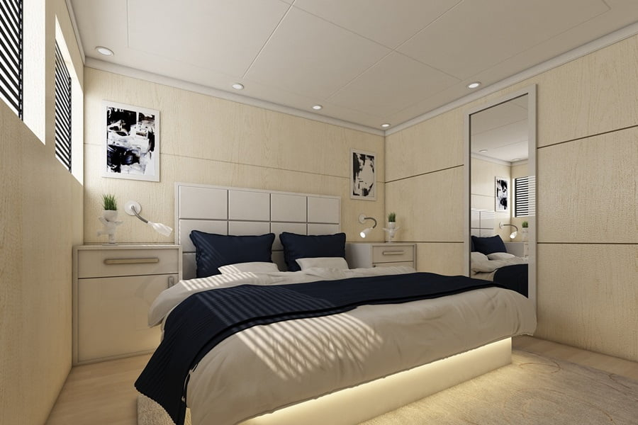 Doppelzimmer Oberdeck